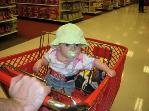 Enjoying a Trip to the Grocery Store with a Toddler