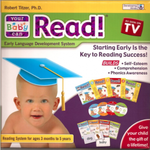 my baby can read