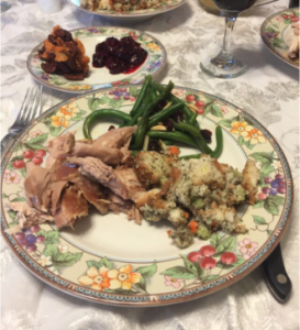 A food allergy friendly thanksgiving